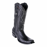 Men's Wild West Teju Lizard With Deer Boots Dubai Toe