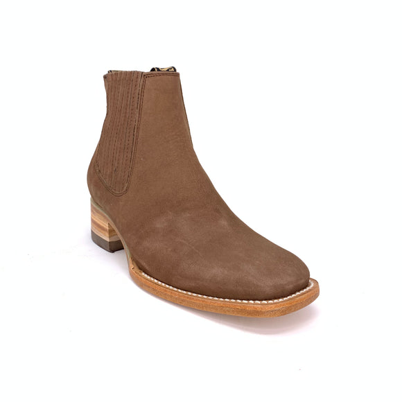 Men's Rancho Semental Suede Charro Boots
