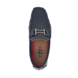 Black Hermes Inspired Loafers Moderno
