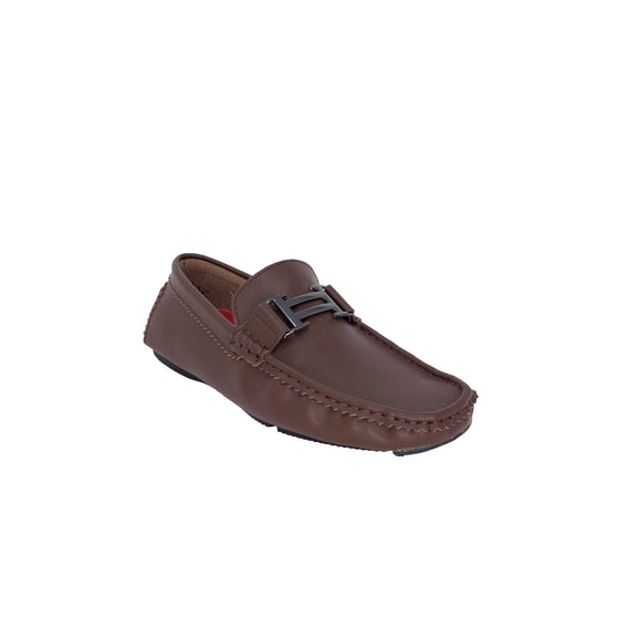 Brown Hermes Inspired Loafers Moderno