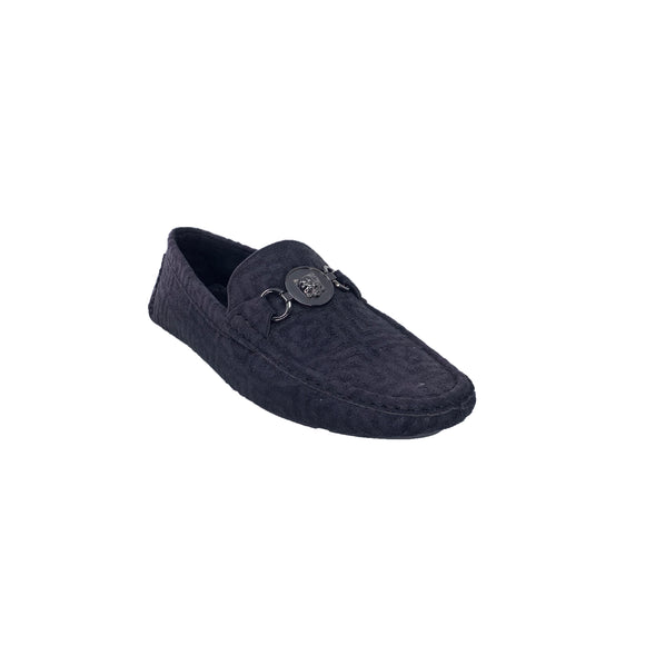 Men's Black Suede Platini Loafers