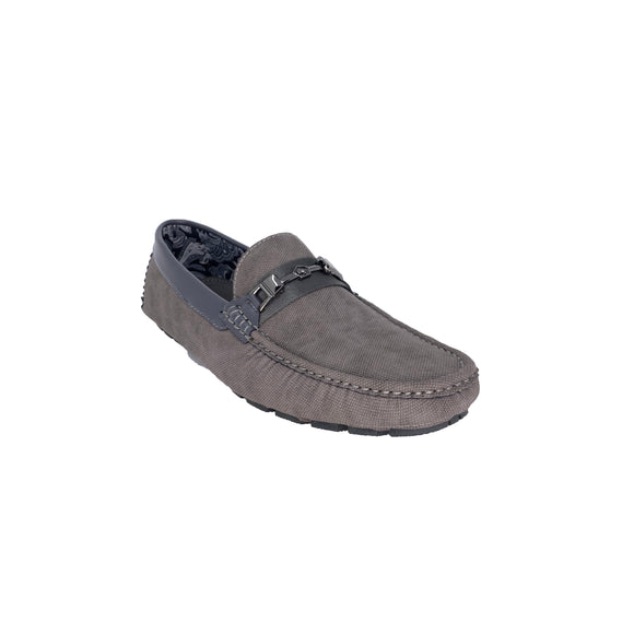 Men's Gray Platini Loafers