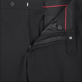 Men's Renoir Two Piece Black Classic Fit Suit