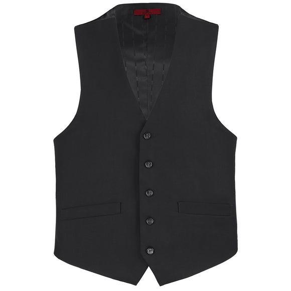 Men's Renoir Black Suit Vest