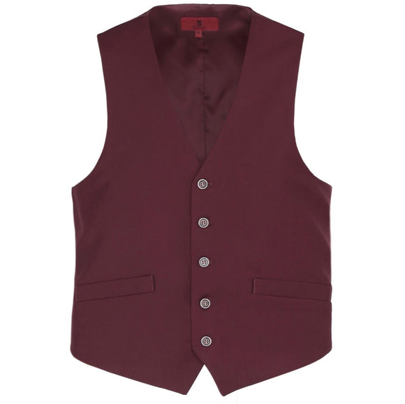 Men's Renoir Burgundy Suit Vest