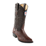 Men's Wild West Smooth Ostrich Boots J Toe
