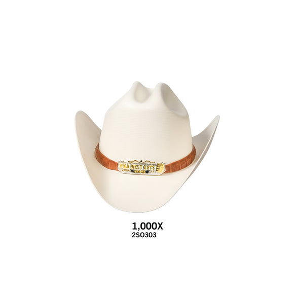 Men's Wild West 1,000x Straw Hat
