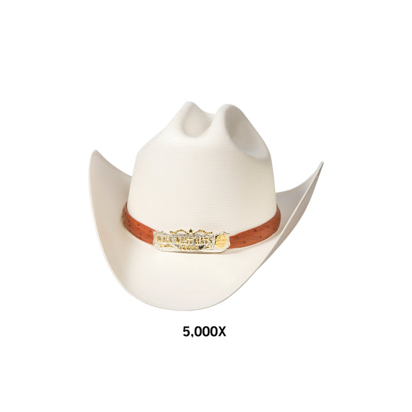 Men's Wild West 5,000x Straw Hat