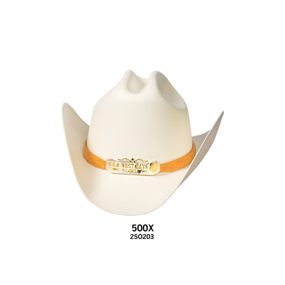 Men's Wild West 500x Straw Hat