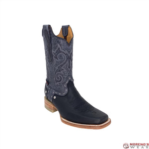 Men's Artillero Square Toe Boots Black