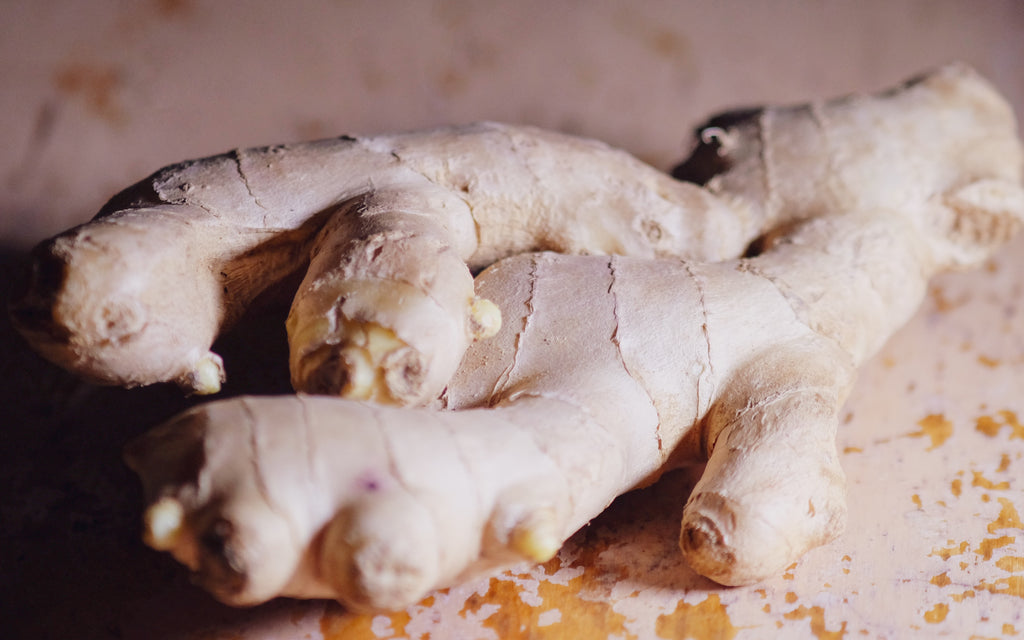 ginger root top 10 autumn fall superfoods fruits and vegetables