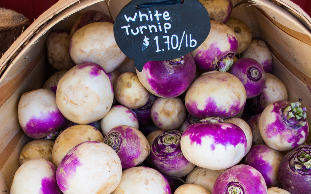 Turnips Autumn Fall Top 10 Superfood Vegetables Fruit