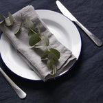 Set of 6 Napkins (Dove Grey, Oatmeal, Navy, or White)