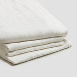 White Linen Complete Sheet Set
