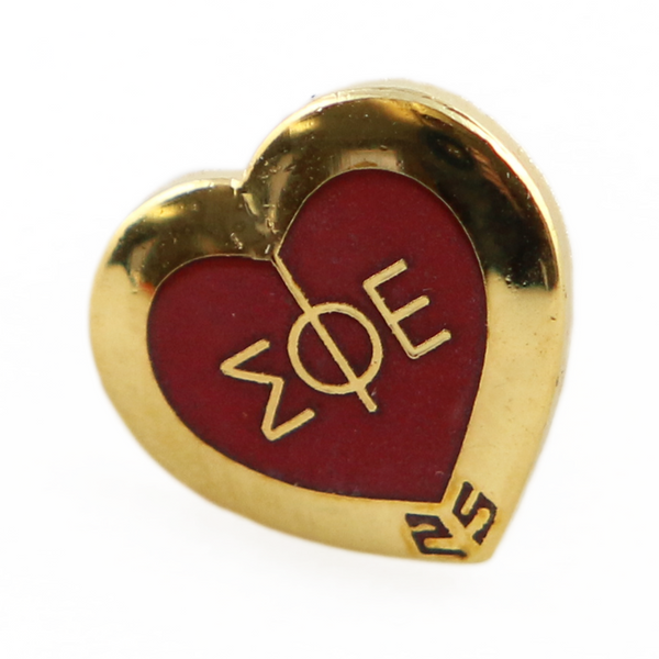 25-Year Member Lapel Pin