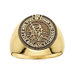 Balanced Man Ring