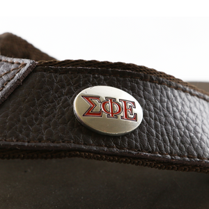 Official SigEp Flip Flop - Brown