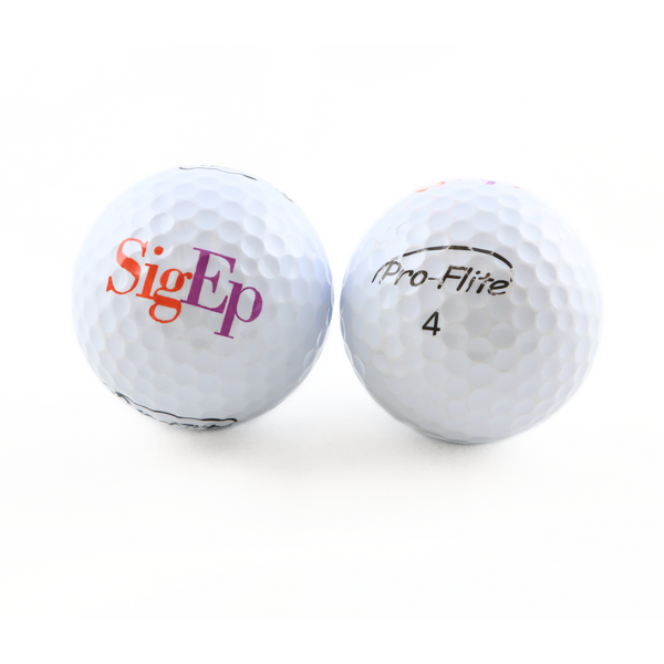 Official SigEp Logo Golf Balls