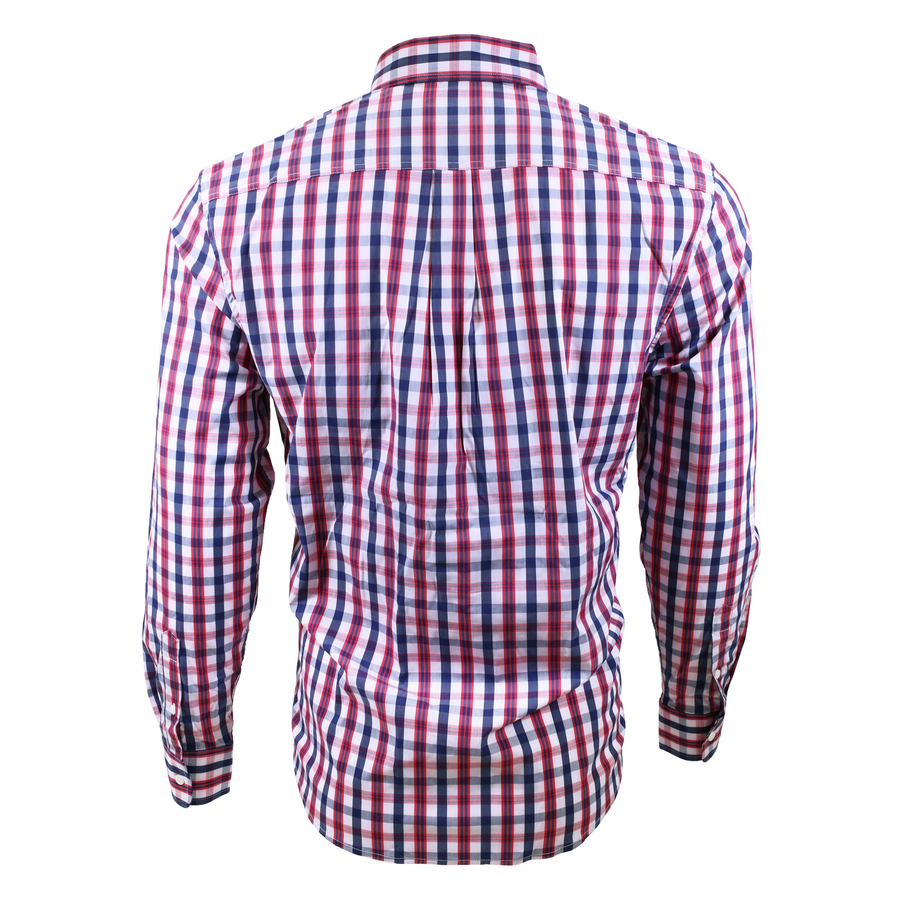 Johnnie-O Button Down - Red Plaid