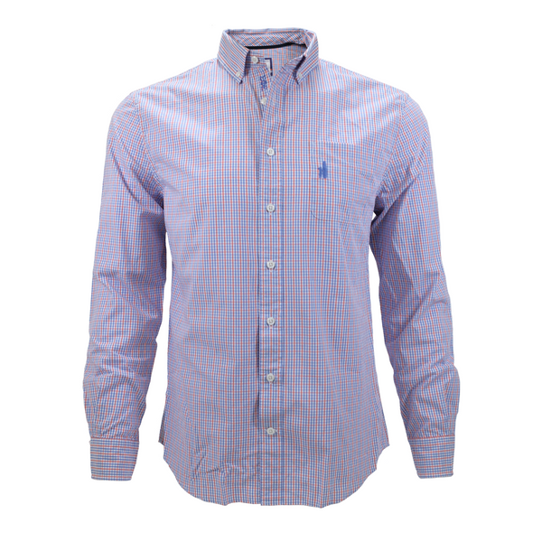 Johnnie-O Button Down - Coral Reefer