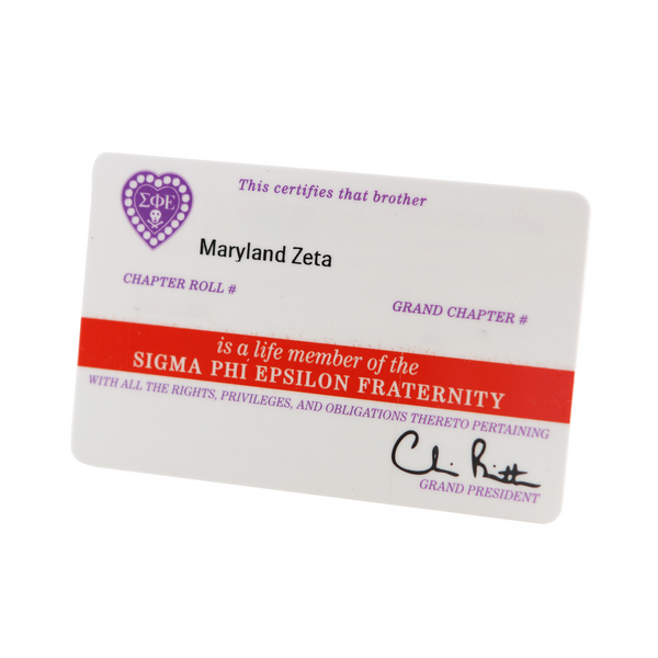 Replacement Membership Card