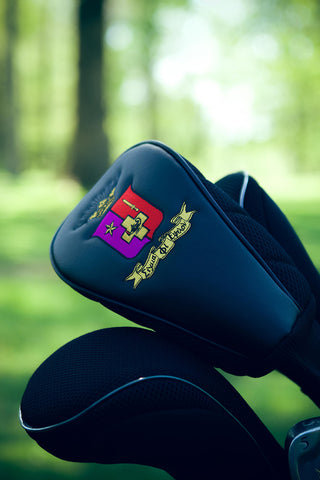 Official SigEp Crest Golf Club Head Cover