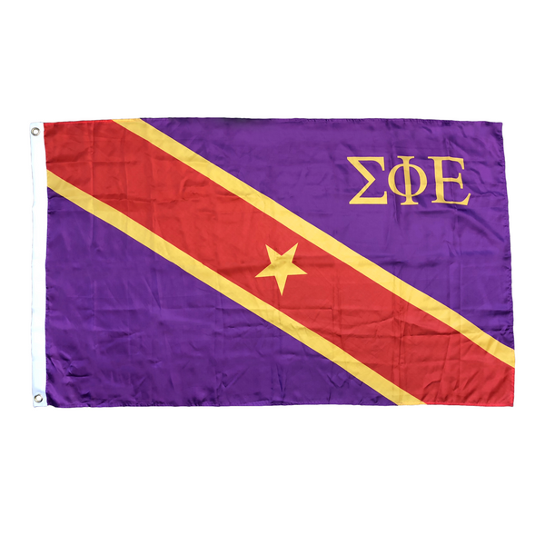 Dye Sublimation SigEp Flag