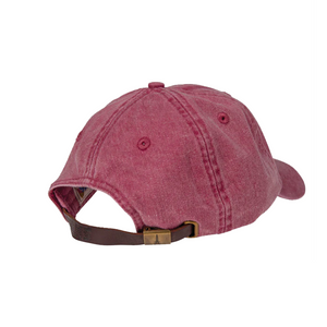 Leather-strapped Youth Hat