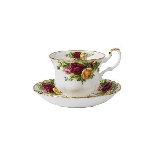 Royal Albert OLD COUNTRY ROSES TEACUP & SAUCER BOXED 6.5 OZ