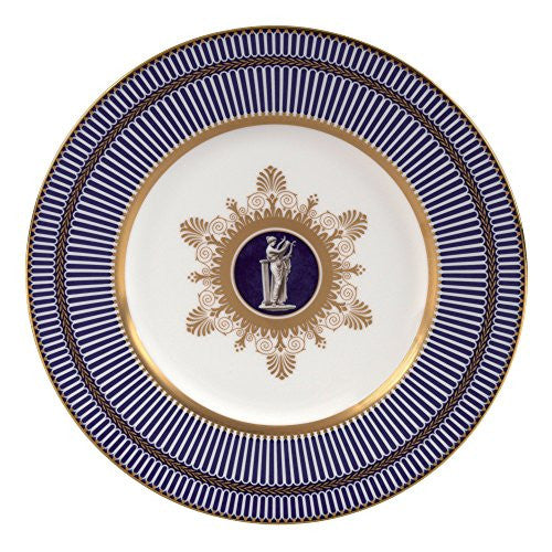 Wedgwood ANTHEMION BLUE ACCENT SALAD PLATE 9""
