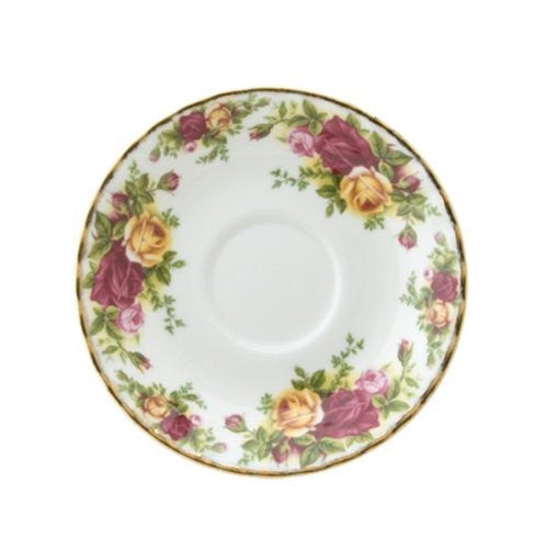 Royal Albert OLD COUNTRY ROSES CREAM SOUP SAUCER 6.3""