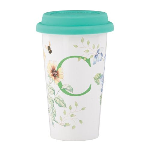 Lenox Butterfly Meadow Thermal Travel Mug, C