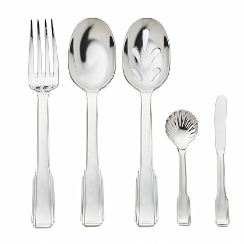 Godinger 88531 Fairmont Hostess Set44; 5 Piece