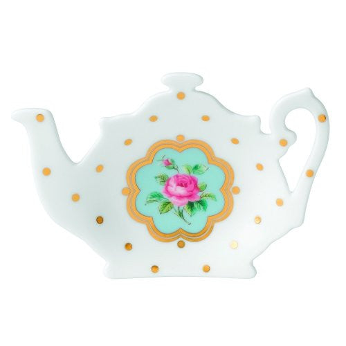 Royal Albert NEW COUNTRY ROSES TEA PARTY TEA TIP/TEA BAG REST