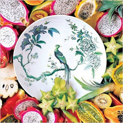 Jasper Conran at Wedgwood Chinoiserie Plate, 7in White