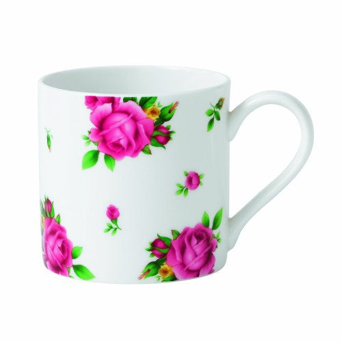 Royal Albert NEW COUNTRY ROSES WHITE CASUAL MUG