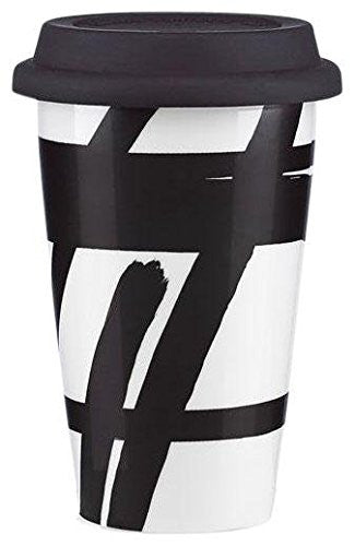 DKNY Urban Graffiti Travel Mug, Black