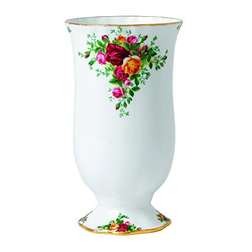 Royal Albert OLD COUNTRY ROSES LARGE VASE 8.7""