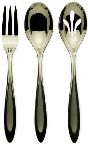 Ginkgo International Fontur 3-Piece Stainless Steel Hostess Serving Set