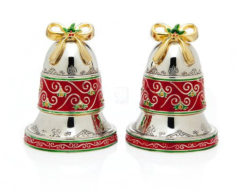 Godinger Bell Salt and Pepper Shakers