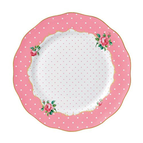 Royal Albert CHEEKY PINK DINNER PLATE 10.6""