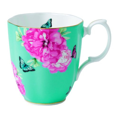 Royal Albert MIRANDA KERR VINTAGE MUG 13.5 OZ FRIENDSHIP (TURQUOISE)
