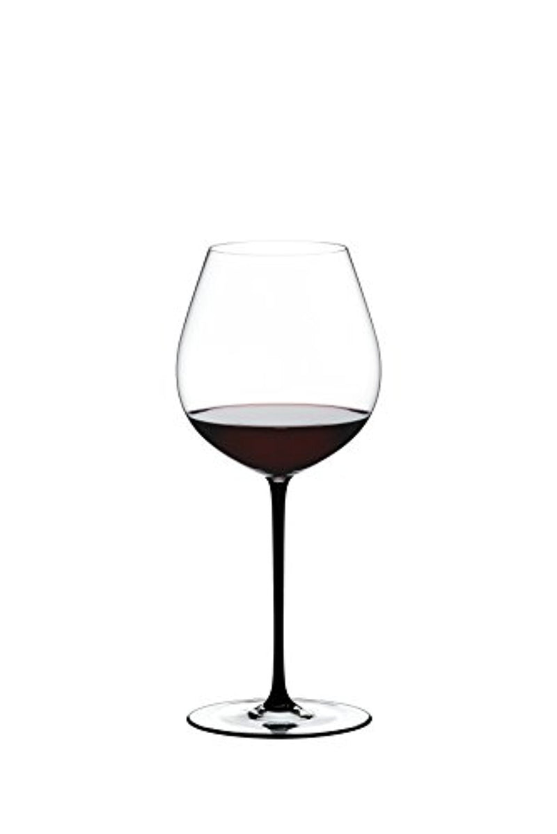 Riedel Fatto A Mano Old World Pinot Noir - Black