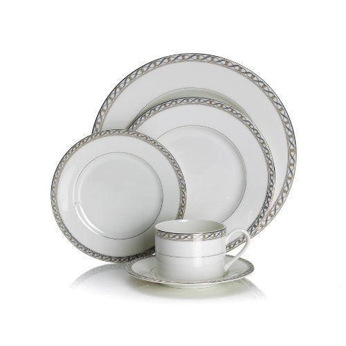 Mikasa Infinity Band 5-Piece Place Setting, Service for 1