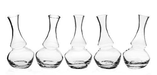 Shannon Crystal By Godinger Impressions Collection Set Of 5 Crystal