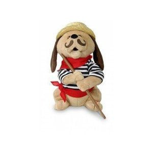 """12"" Tall Gondolomio Romantic Italian Animated Plush Puppy Dog Toy Dancing an..."