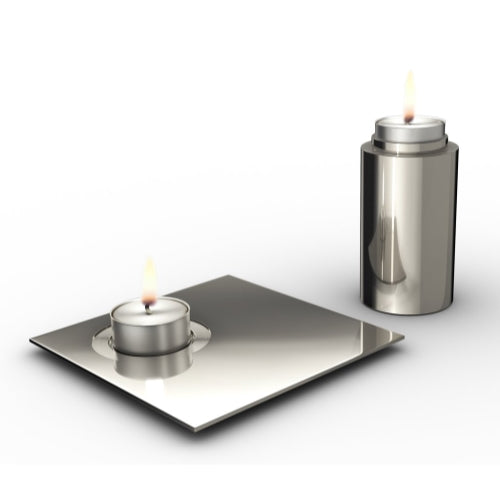 Elevate Kiddush Cup & Tray Set by Uvtuvo - Modern Judaica