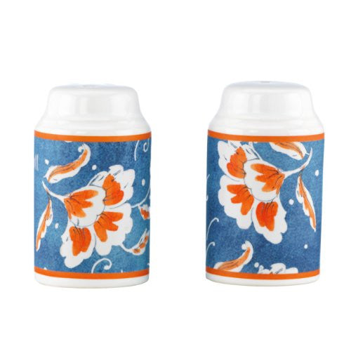 Gorham Kathy Ireland Home Spanish Botanica Salt and Pepper Set