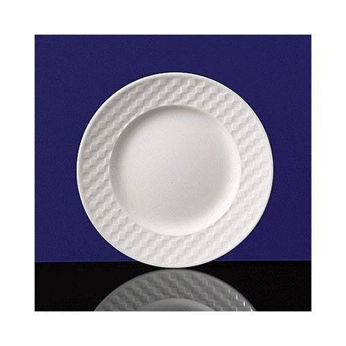 Wedgwood NIGHT AND DAY BREAD & BUTTER PLATE CHECKERBOARD 6""