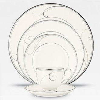 Noritake Platinum Wave 20-Piece Set, Service for 4
